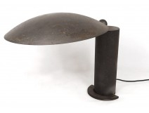 Office lamp Jean-Michel Wilmotte Washington lacquered metal black design XXè