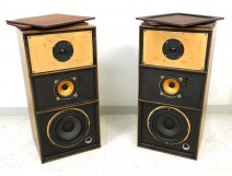 Pair of loudspeakers DECCA AL 2000 London Loudspeaker XXth