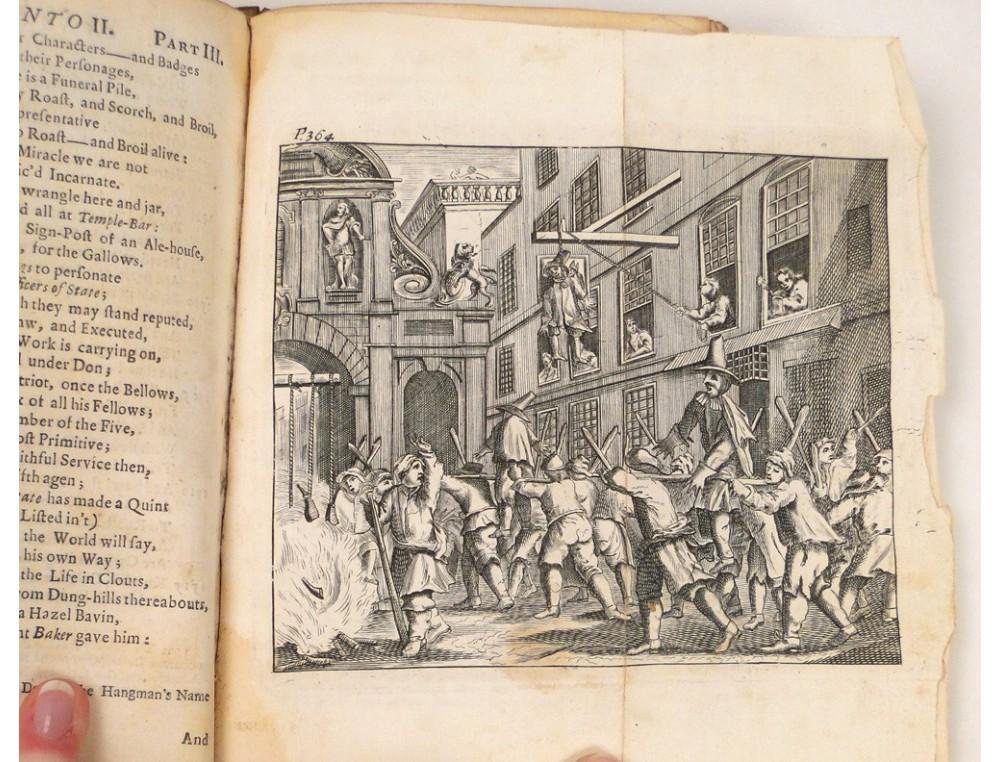 English Book Hudibras Samuel Butler 1732