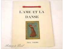 Book book Soul and Dance 1926 Paul Valery