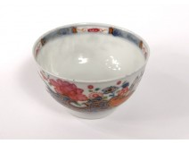 Small bowl Chinese porcelain flowers branch China nineteenth century