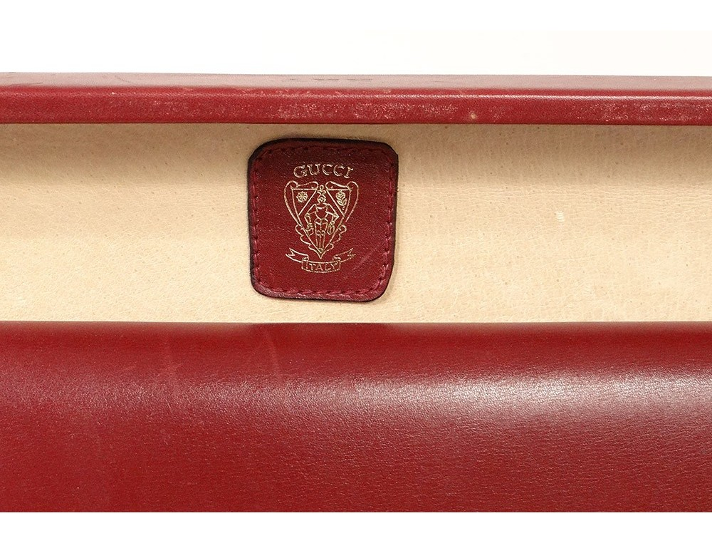 best website d43db c1d88 Attache case briefcase travel briefcase Gucci Italy leather vintage ...