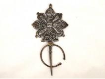 Sterling silver brooch Tisernas, Morocco, Twentieth