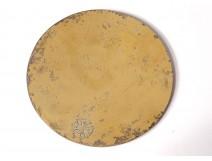 Patène chalice silver vermeillé dutch lion Netherlands 144gr silver nineteenth