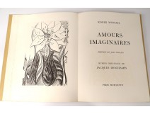Imaginary Loves Roger Michael engravings drawing Jacques Deschamps 1968 n ° 9
