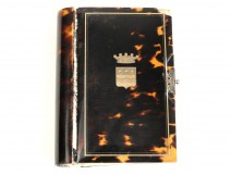 Roman Missal or Paroissien, tortoiseshell and gold thread, nineteenth
