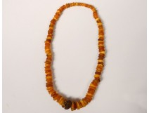 Baltic amber necklace old jewel collection amber necklace nineteenth century