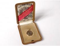 18K Longines enamelled gold gusset watch Grand Prix Paris 1900 Beirut