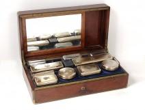 Needle travel toilet Aucoc Silver Elder Minerve de Gramont Nineteenth