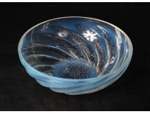 Hollow glass opalescent Lalique France model Pisces n ° 1 20th century
