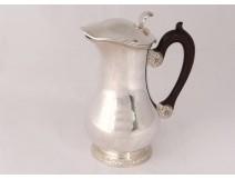 Sterling silver coffee pot Mercure goldsmith Robert Linzeler silver 19th