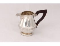 Small solid silver milk jug Mercury silversmith Mellerio silver 124gr nineteenth