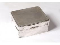 Box sterling silver sterling silver sterling silver 19th century
