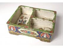 Container spice faience Arabic Qadjar Persian Ottoman characters Kadjar 19th
