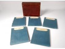 Particular card Duchy Burgundy Seguin 1763 book volume I 5 cards XVIIIè