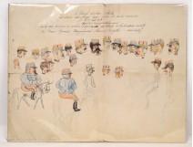 Soldiers cartoon Attila Huns 19th