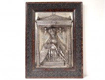 Pieta Virgin Mary Mater Dolorosa Morera Bas Relief Sculpture XIXth