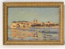 HSP table view bridge Avignon Palace Pope Rocher Doms Landerset twentieth