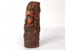 Mask ornament Omama Orufanran ivory ram Owo Yoruba Nigeria Benin Ifé