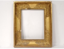 Empire frame stuccoed gilt palmettes foliage nineteenth century