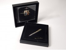 Pencil Montblanc Meisterstuck Solitaire Silver Tribute Mozart CD