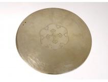 Vermeil silver chalice paten Minerva goldsmith Veuve Demarquet 97gr XIXth