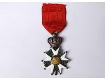 enamel Legion of Honor Henri IV flags Homeland flag silver enamel 19th