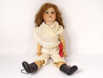 SFBJ 60 Paris old doll Size 7 sleeper eyes clothing collection