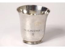 Silver timpani cup Farmers General Nantes Pierre III Brouard XVIIIth