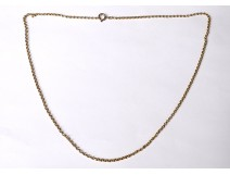 18k solid gold jewelry necklace chain 4.62gr twentieth century