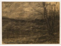Charcoal Forest Jura by Auguste Pointelin nineteenth