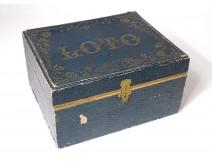 NK Atlas Paris lotto game box tokens 20th century collection