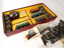 Model electric train JEP France Series 60 wagons rails box XXth
