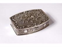 835 German solid silver snuffbox Albo Alfred Bodemer 40gr XXth
