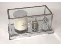 Marine barometer and recorder Leon Maxant twentieth chromed metal