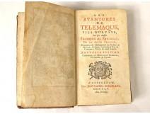 Book The Adventures of Telemachus son of Ulysses Salignac Fénélon 1755
