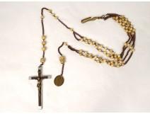 Community rosary cross crucifix Christ rosary Marie St Augustin XIXth