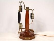 Grammont Paris column telephone combined Eurieult Chéronnet wood twentieth