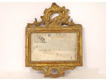Appointment Order of Saint Jerome Spain General of Montemolin 1779 XVIIIth