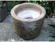 Trough or mortar granite ambiance antique 19th