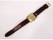 Moeris Excellence Automatic men's wristwatch 18K gold Swiss vintage twentieth