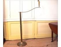 Franck Adnet floor lamp Art Deco bronze 1940
