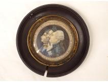 Miniature painted portraits Kings France Louis XVI Henri IV Louis XII XVIIIth