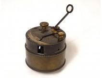 Brass military pocket sextant Barton Linnard Ltd 1918 20th century