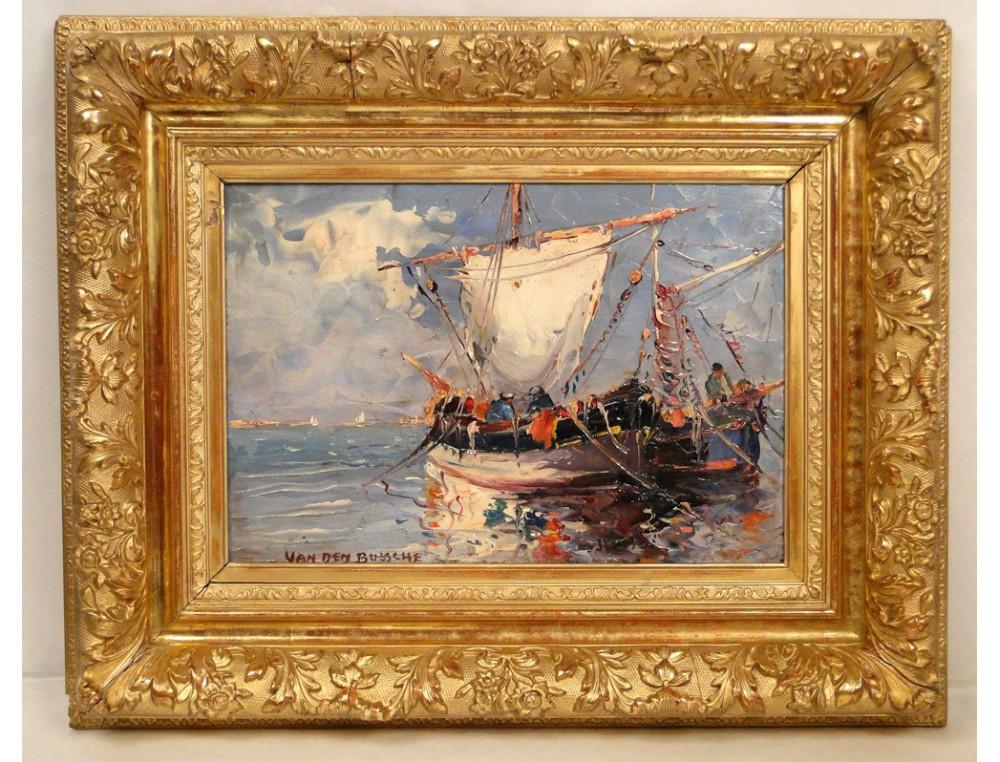 Hsp Painting Van Den Bussche 20th Marine