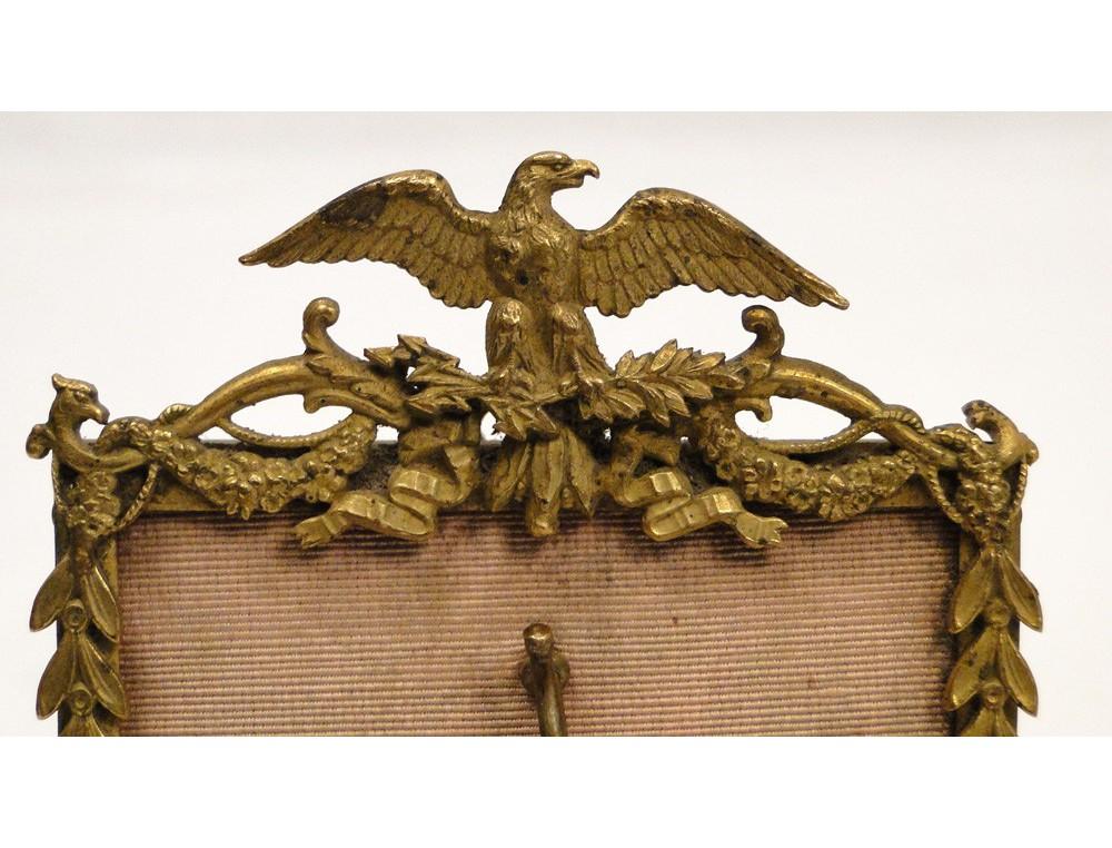 Watch Stand Gilt Bronze Empire Napoleon Eagle 19th