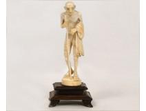 Gandhi, ivory carving, twentieth century