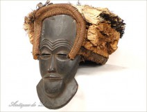 African Mask Primitive Tribal Ethnic wooden 20th