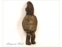 African wooden statuette Fetish Ethnic Tribal Primitive 20th