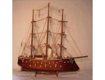 Model boat destroyer cruiser 19th